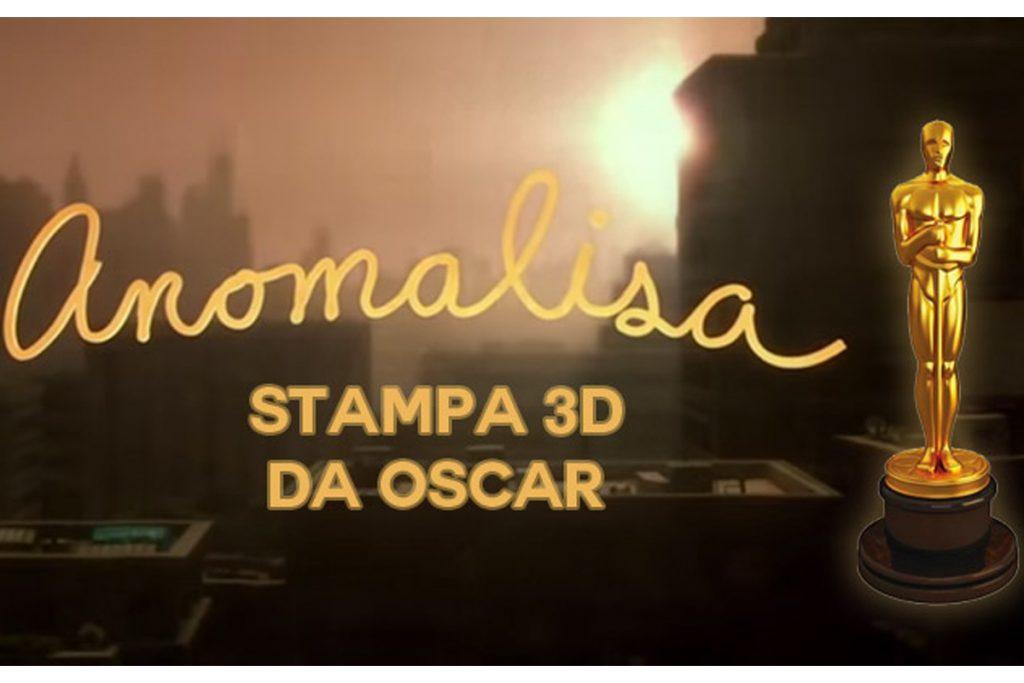 La Stampa 3D è da Oscar con Anomalisa
