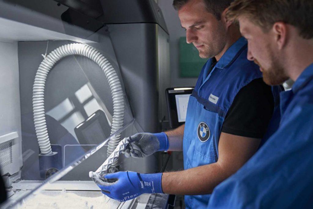 La produzione additiva nell'automotive: il caso BMW