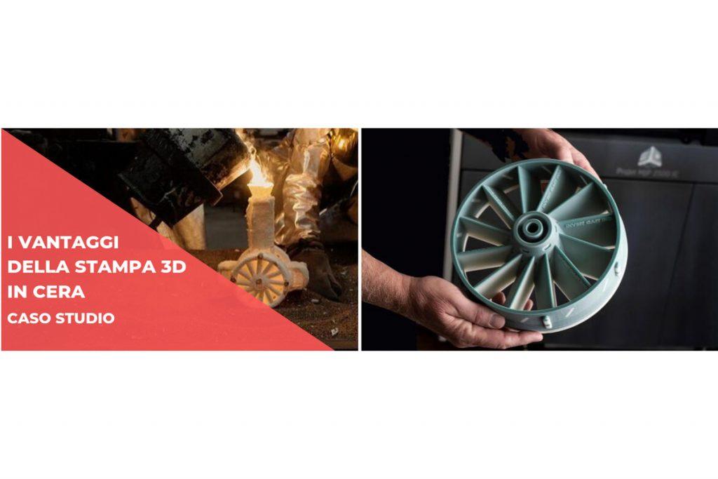 Caso studio: Invest Cast e i vantaggi della stampa 3D in cera