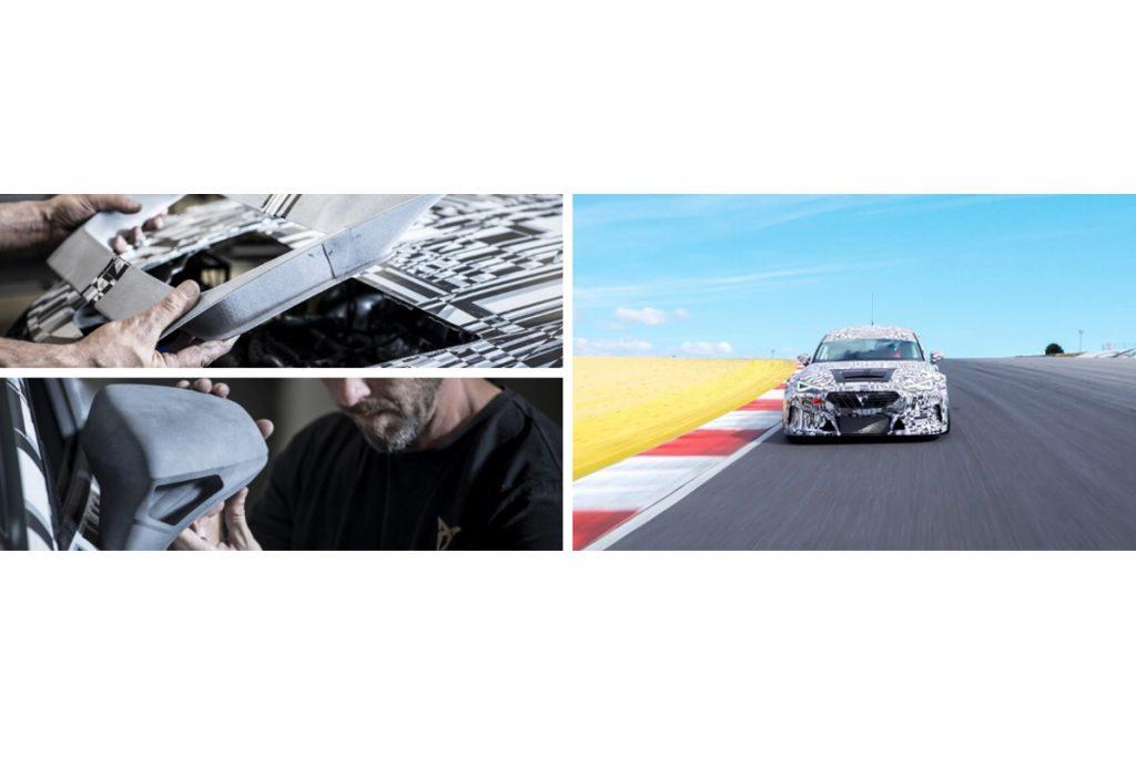 Leon Competition: la macchina da corsa con parti stampante in 3D HP MJF