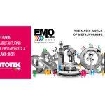 L'Additive Manufacturing internazionale protagonista a EMO MILANO 2021